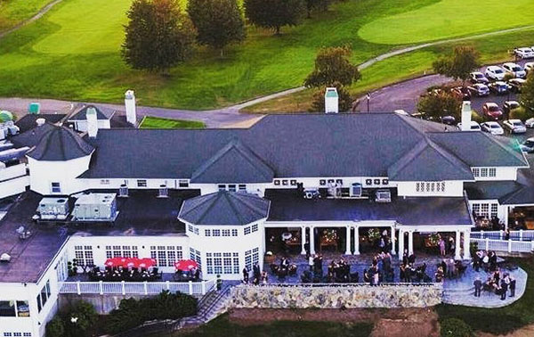 arial view of the clubhouse